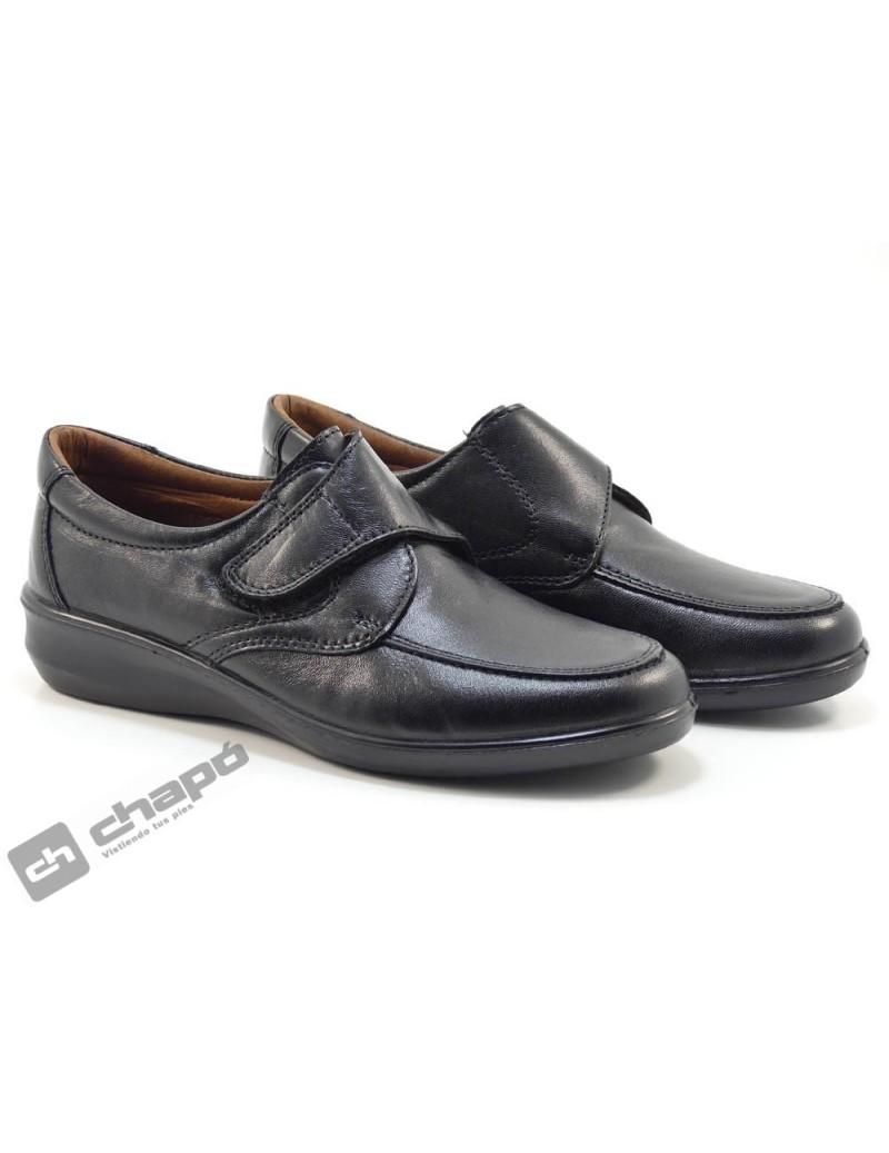 Zapatos Negro Luisetti 0306