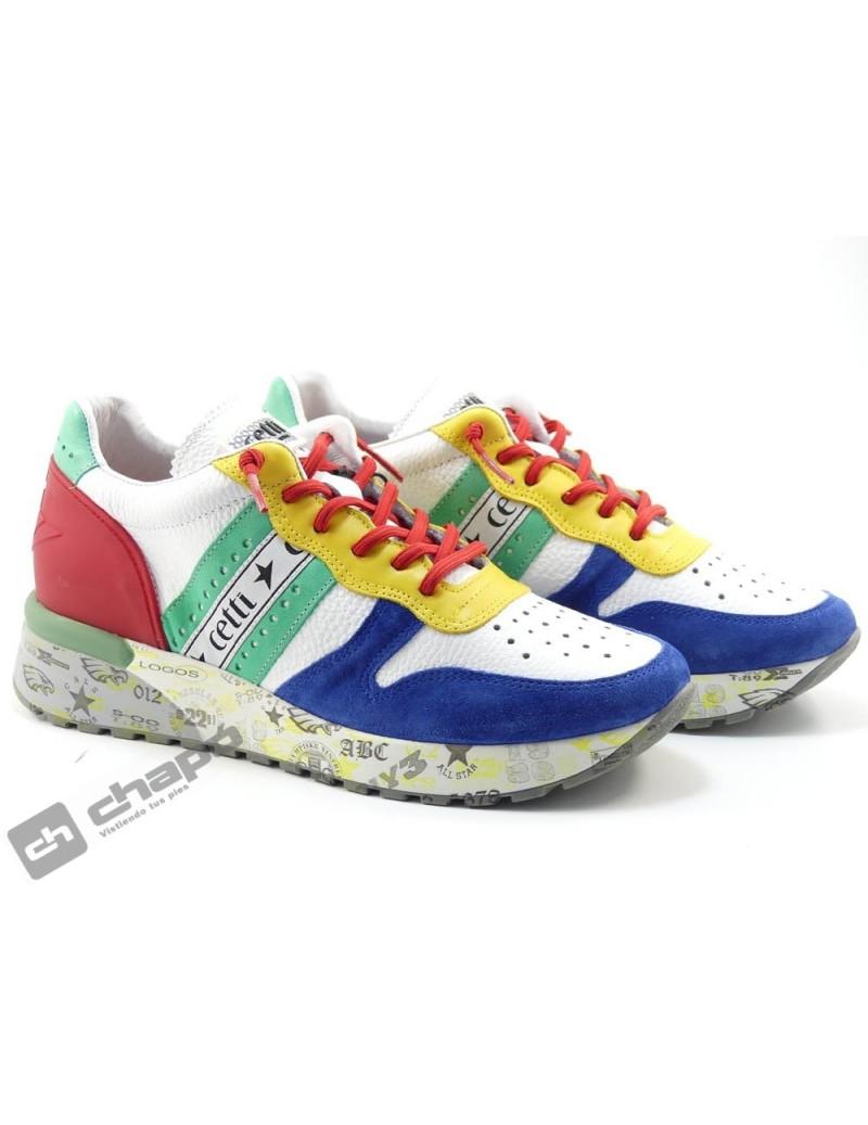 Zapato Deportivo Multicolor Cetti C-1260
