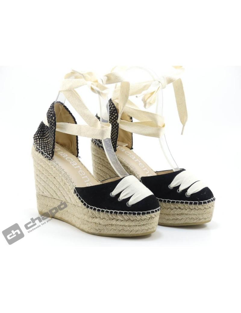 Zapatos Negro Macarena Alba8