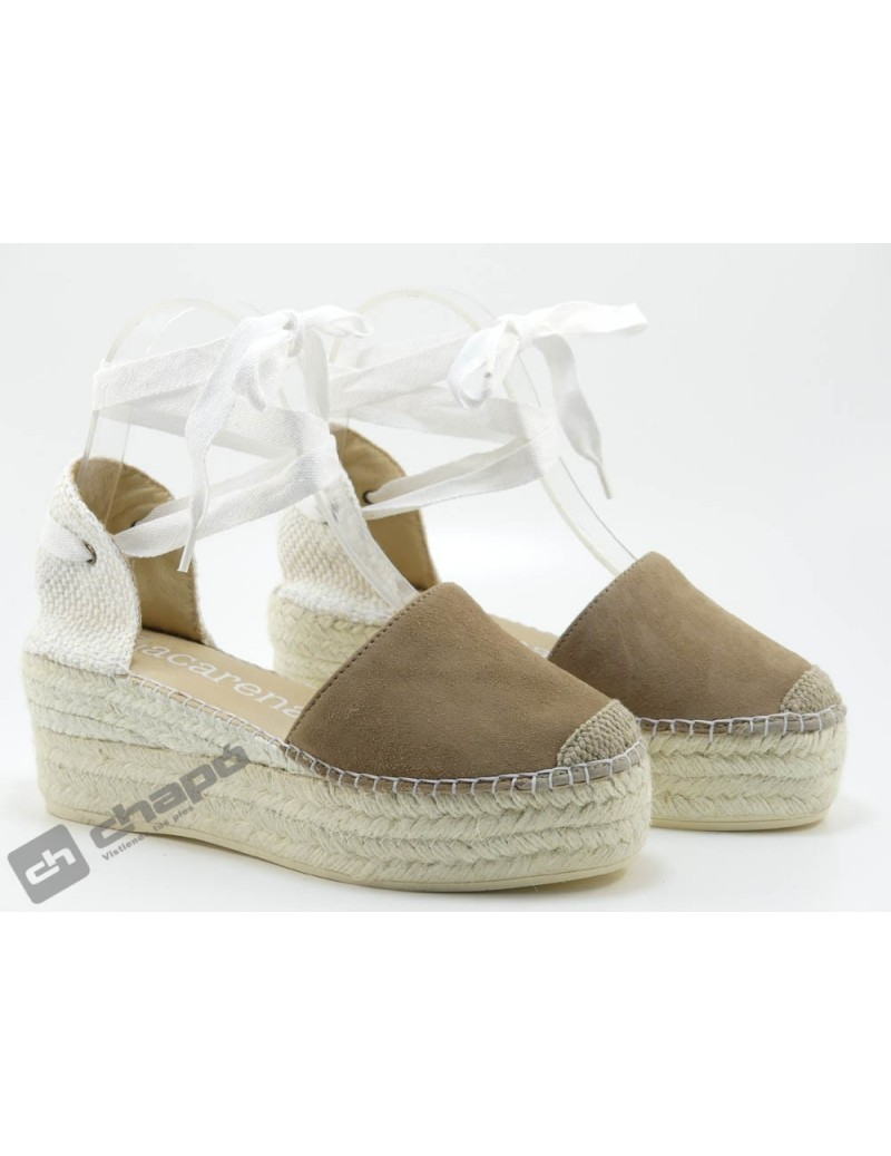 Zapatos Taupe Macarena Java 30