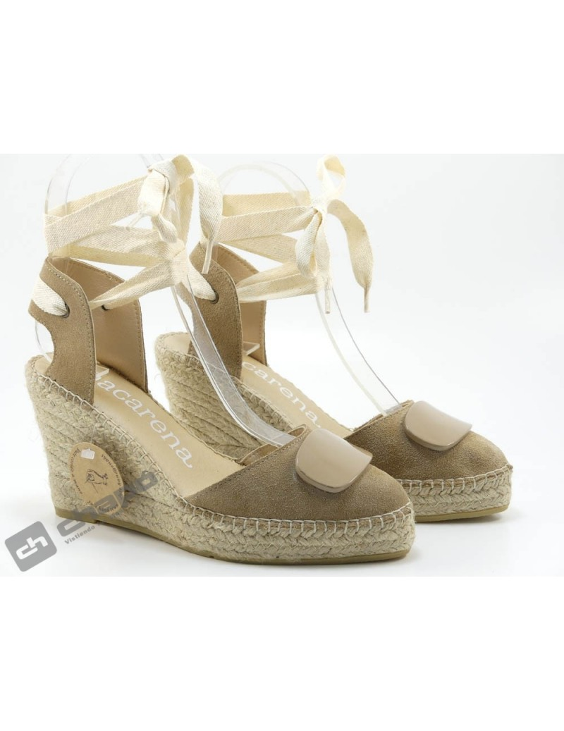 Zapatos Taupe Macarena Denis 20