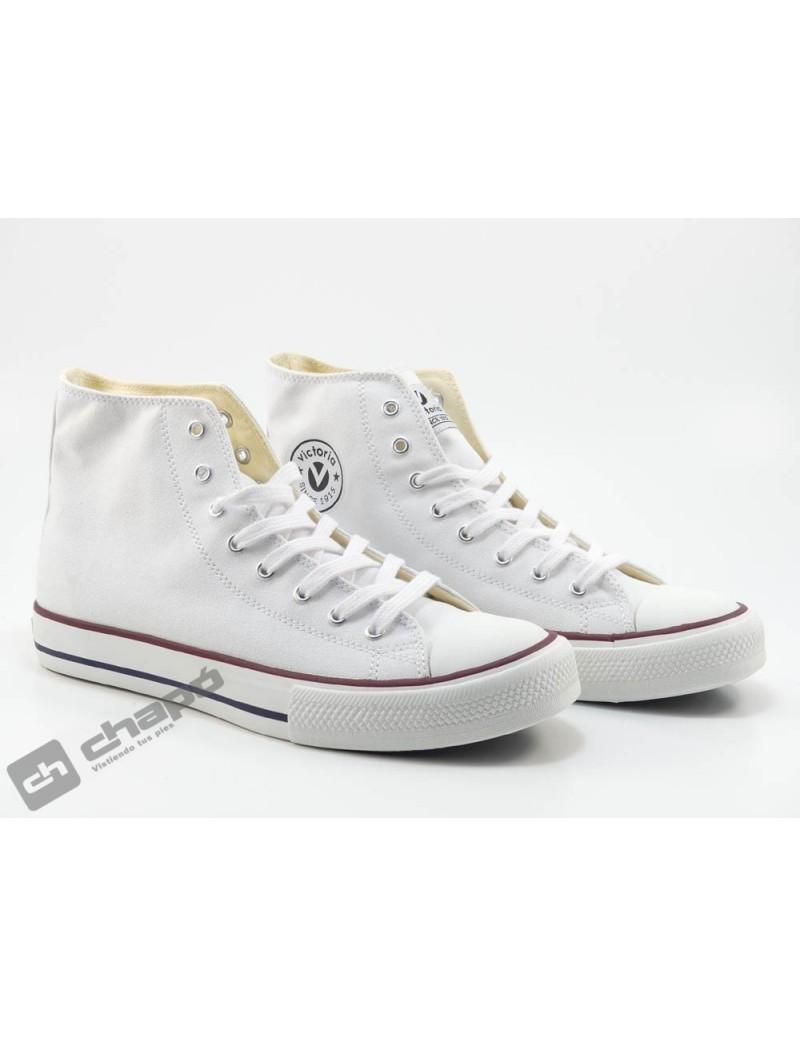 Zapato Deportivo Blanco Victoria 106500