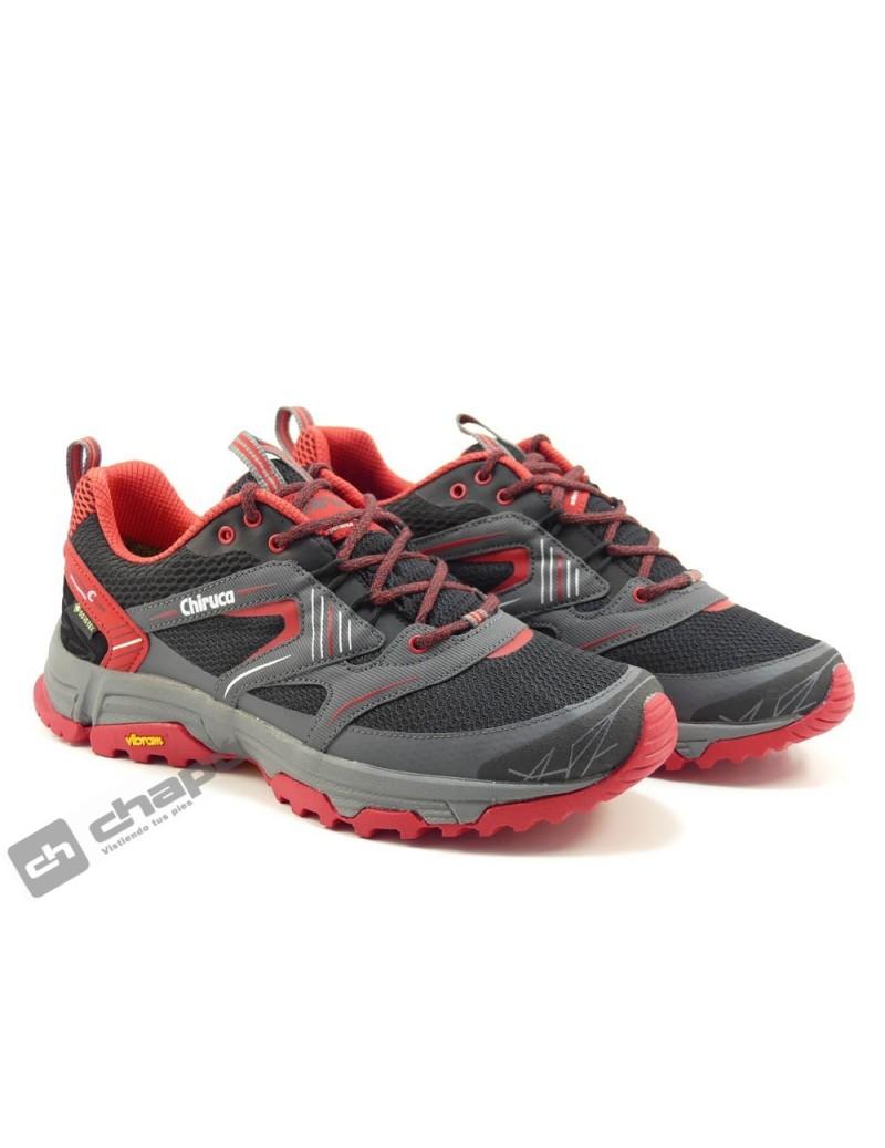 Zapato Deportivo Rojo Chiruca Ma Ui 03 Gore-tex
