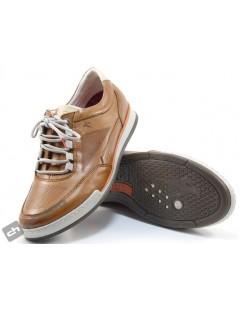 Sneakers Cuero Fluchos F0146-etna