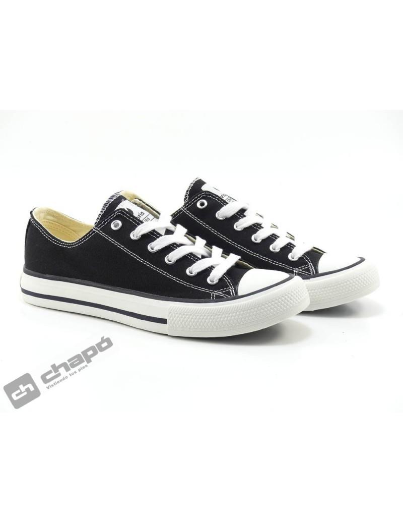 Sneakers Negro Zapatillas Victoria 106550
