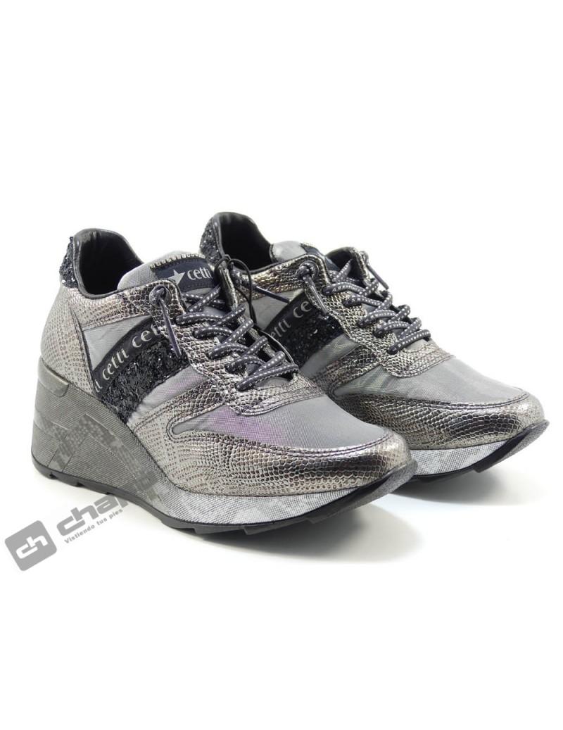 Sneakers Grafito Cetti C-1145