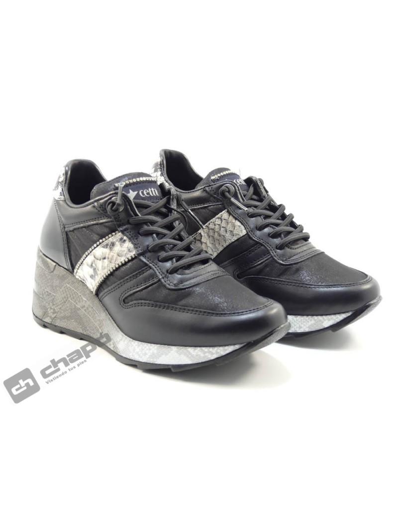 Sneakers Negro Cetti C-1145