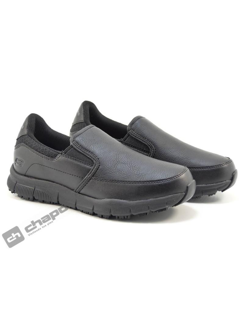 Sneakers Negro Skechers 77236