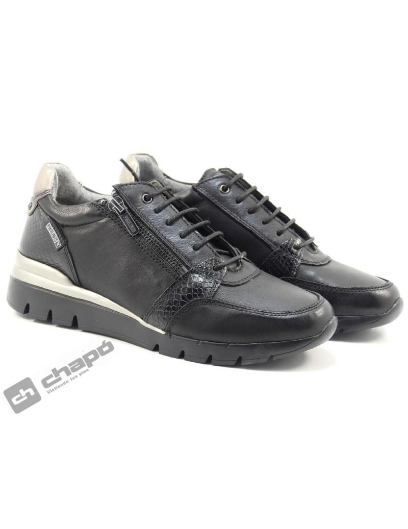 Sneakers Negro Pikolinos W4r-6718
