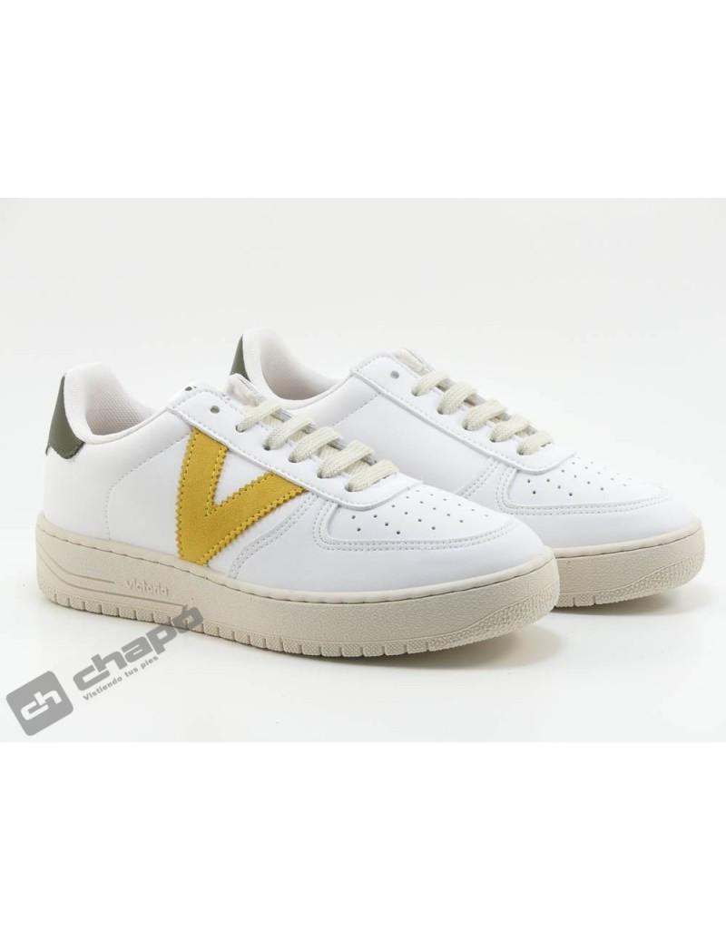 Sneakers Mostaza Zapatillas Victoria 1129101