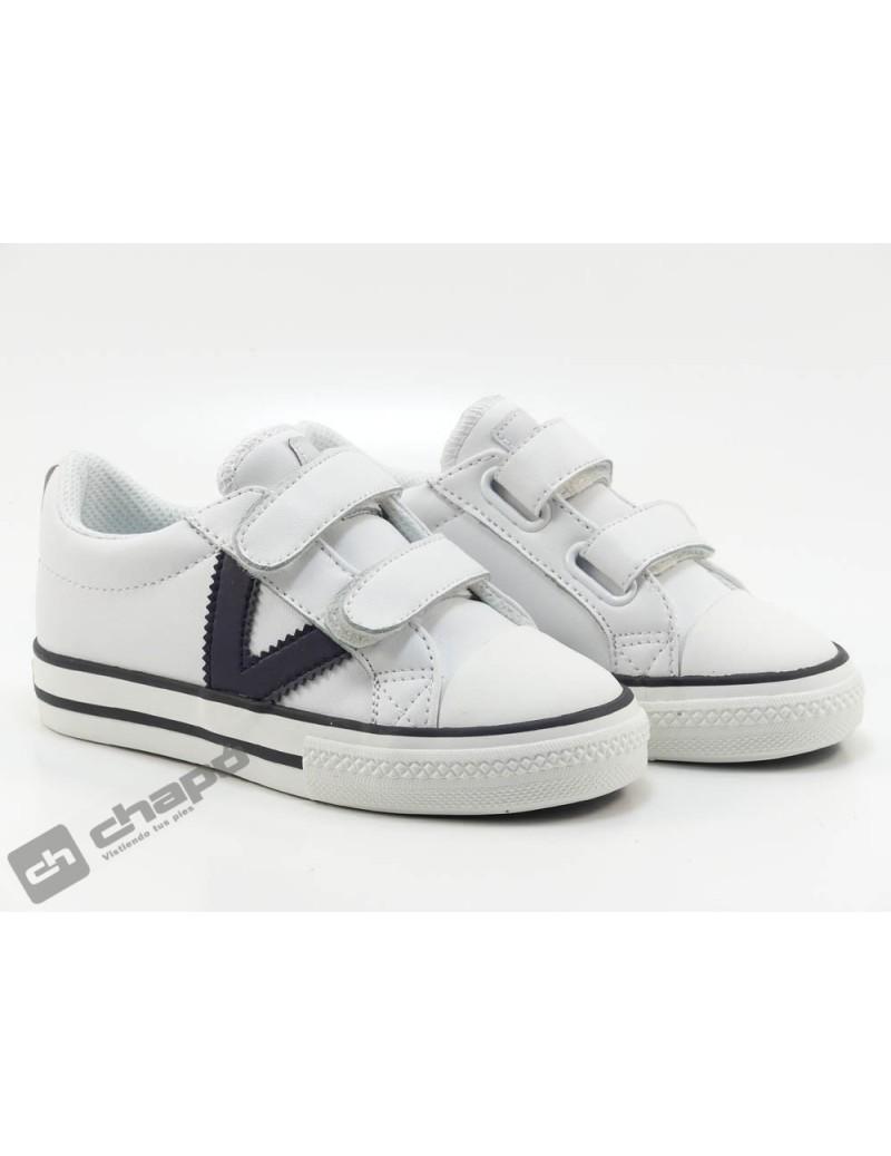 Zapatillas NiÑo-a Blanco Zapatillas Victoria 1065162