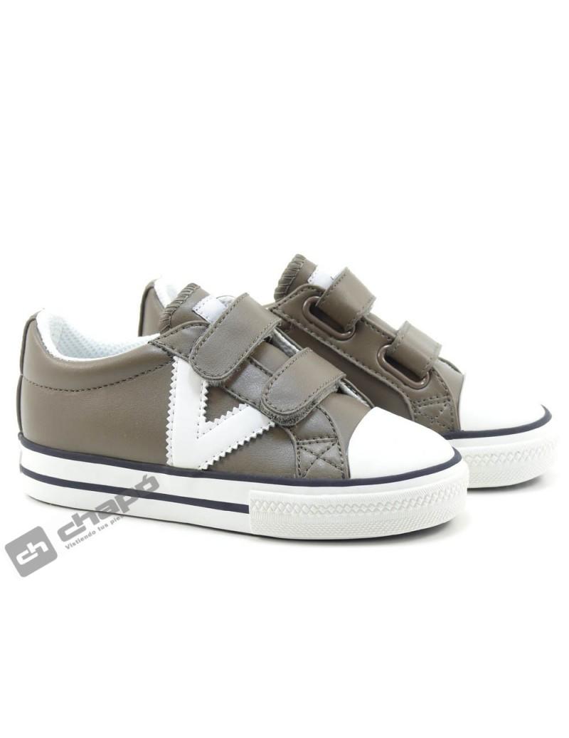 Zapatos Taupe Zapatillas Victoria 1065162