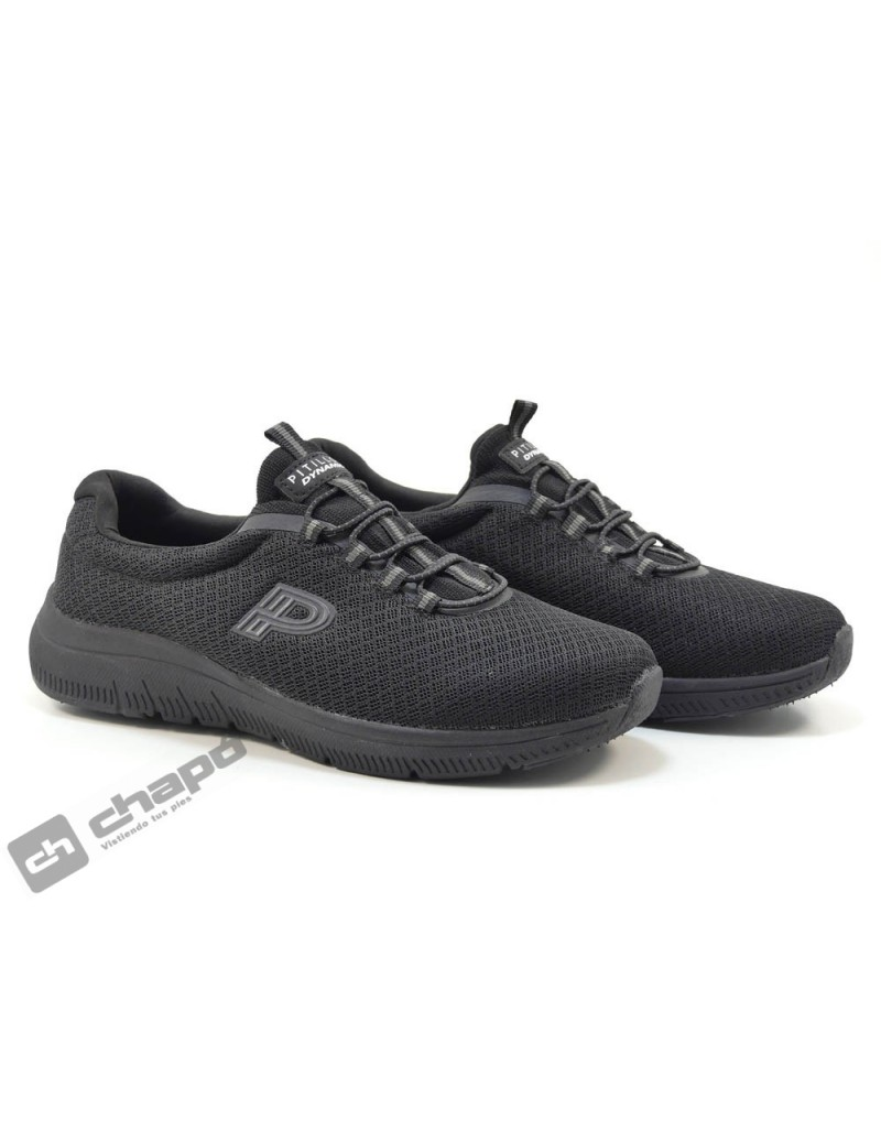 Sneakers Negro Pitillos 1170