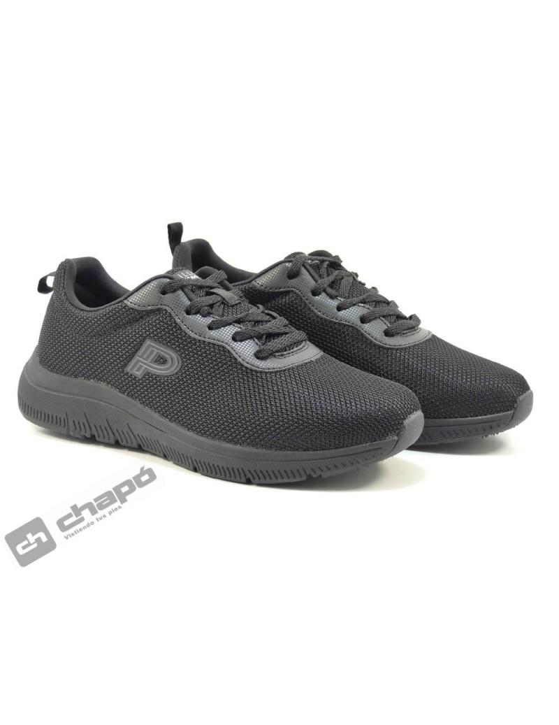 Sneakers Negro Pitillos 1180