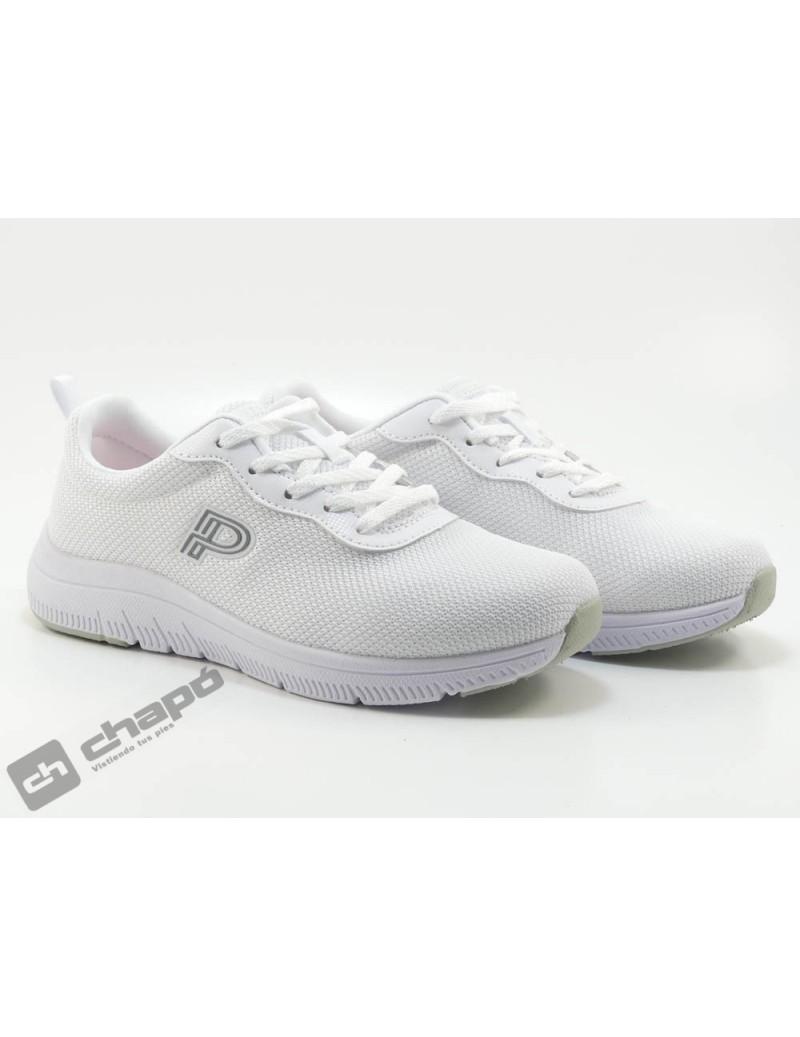 Zapatos Blanco Pitillos 1180