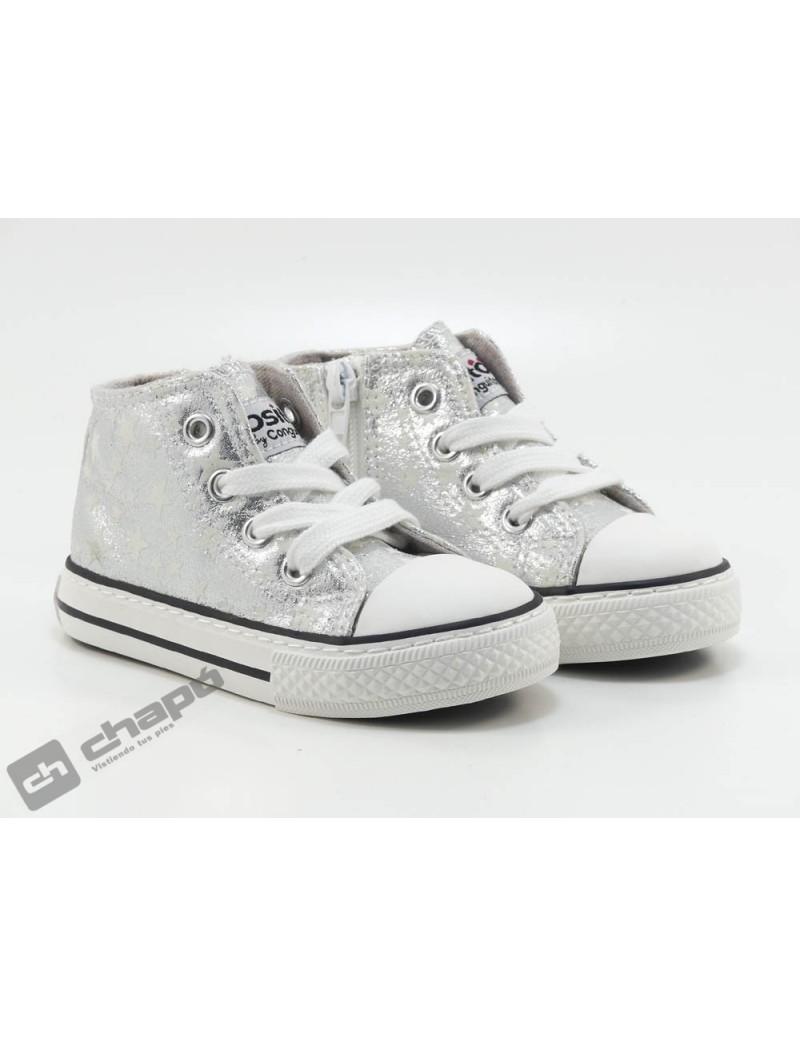 Sneakers Plata Conguitos 141 48