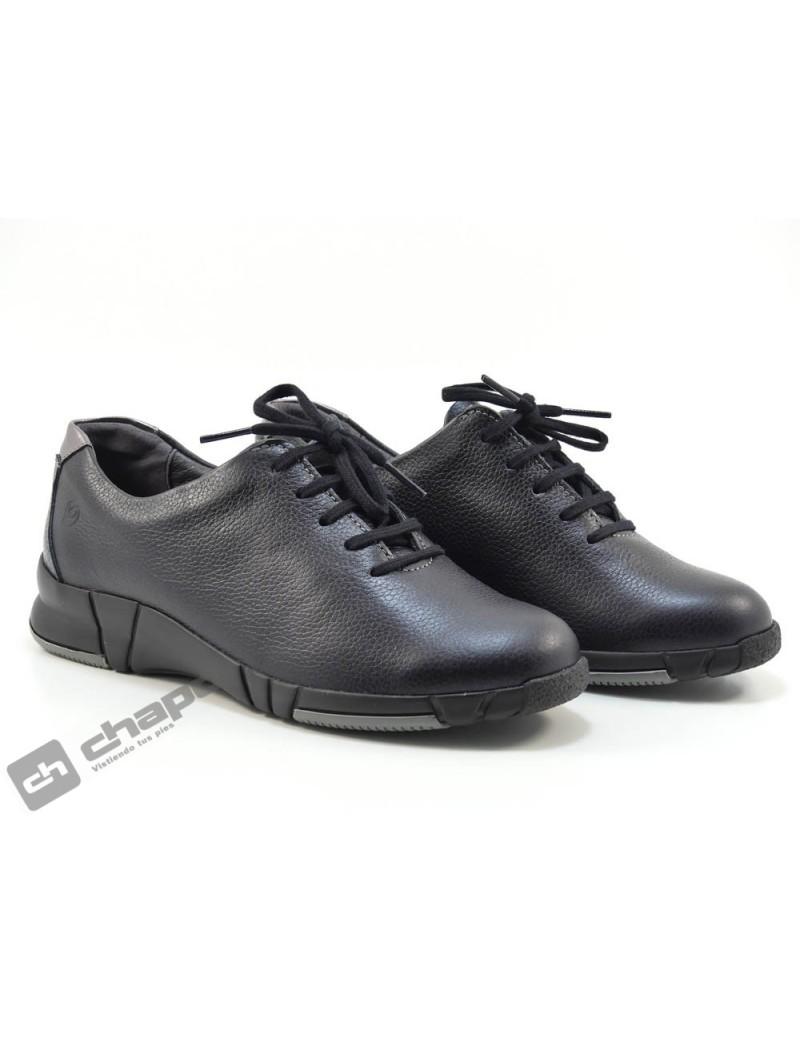 Blucher Negro Suave 3204