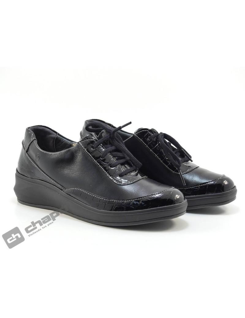 Blucher Negro Suave 3402