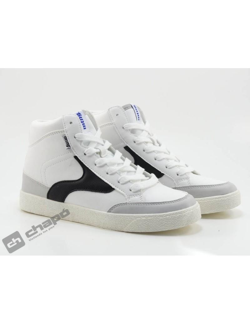Sneakers Blanco Mustang 60168