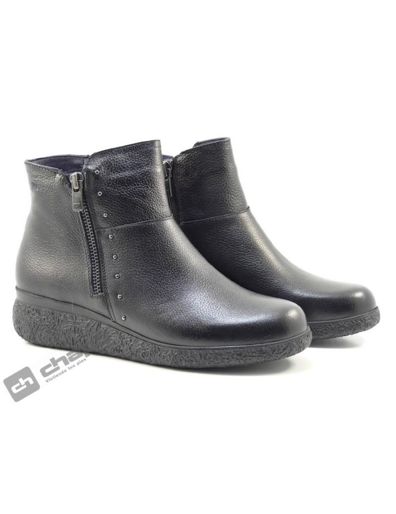 Botines Negro Fluchos D8571