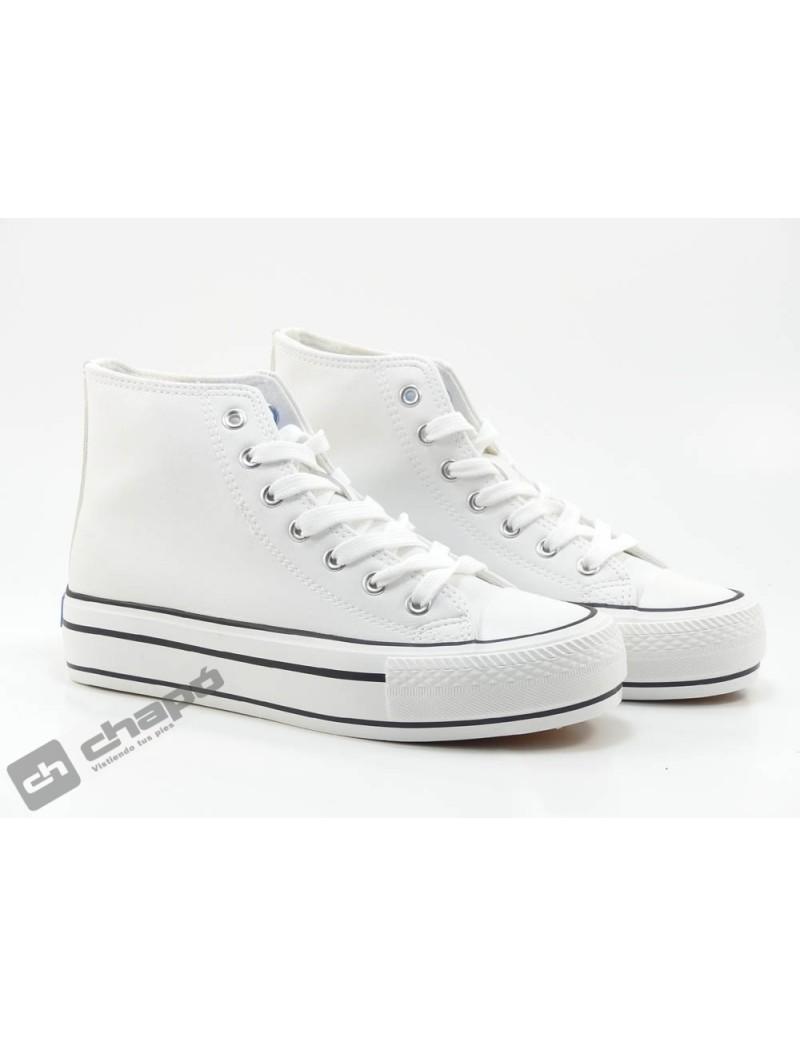 Sneakers Blanco Mustang 60172