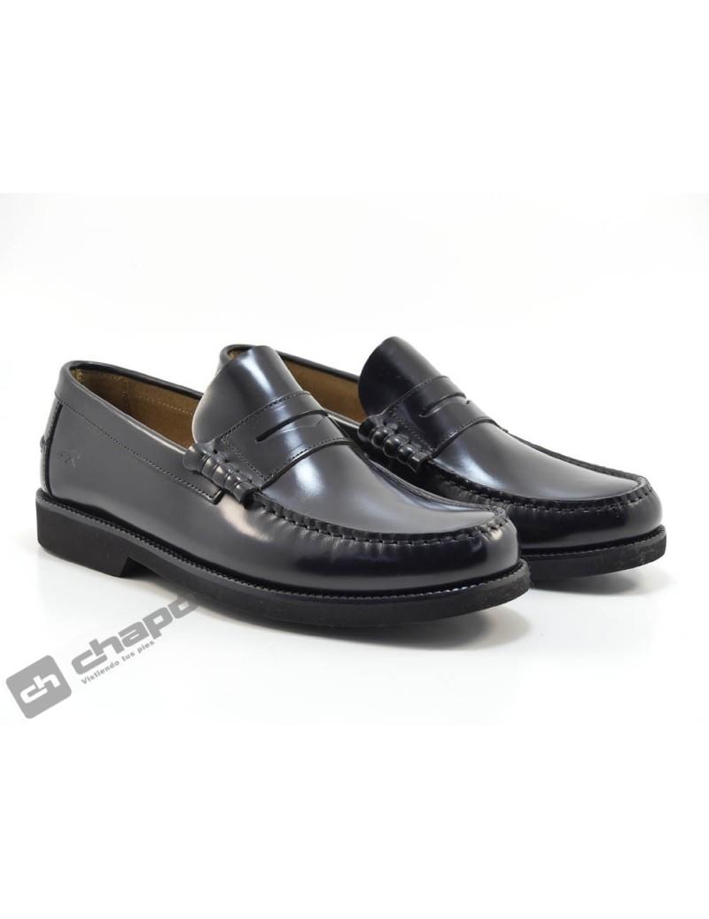 Zapatos Negro Fluchos F0047