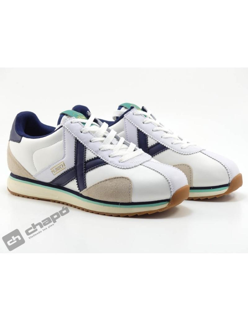 Sneakers Blanco Munich Sapporo 119