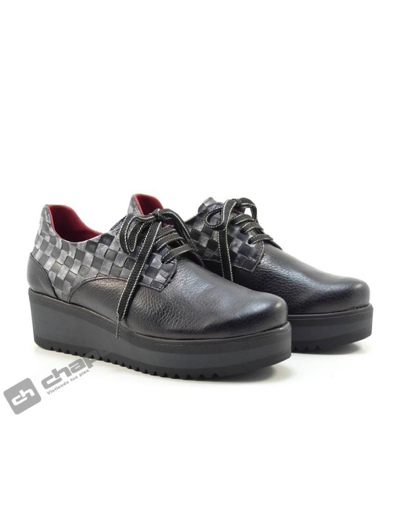 Zapatos Negro Jose Saez 4243