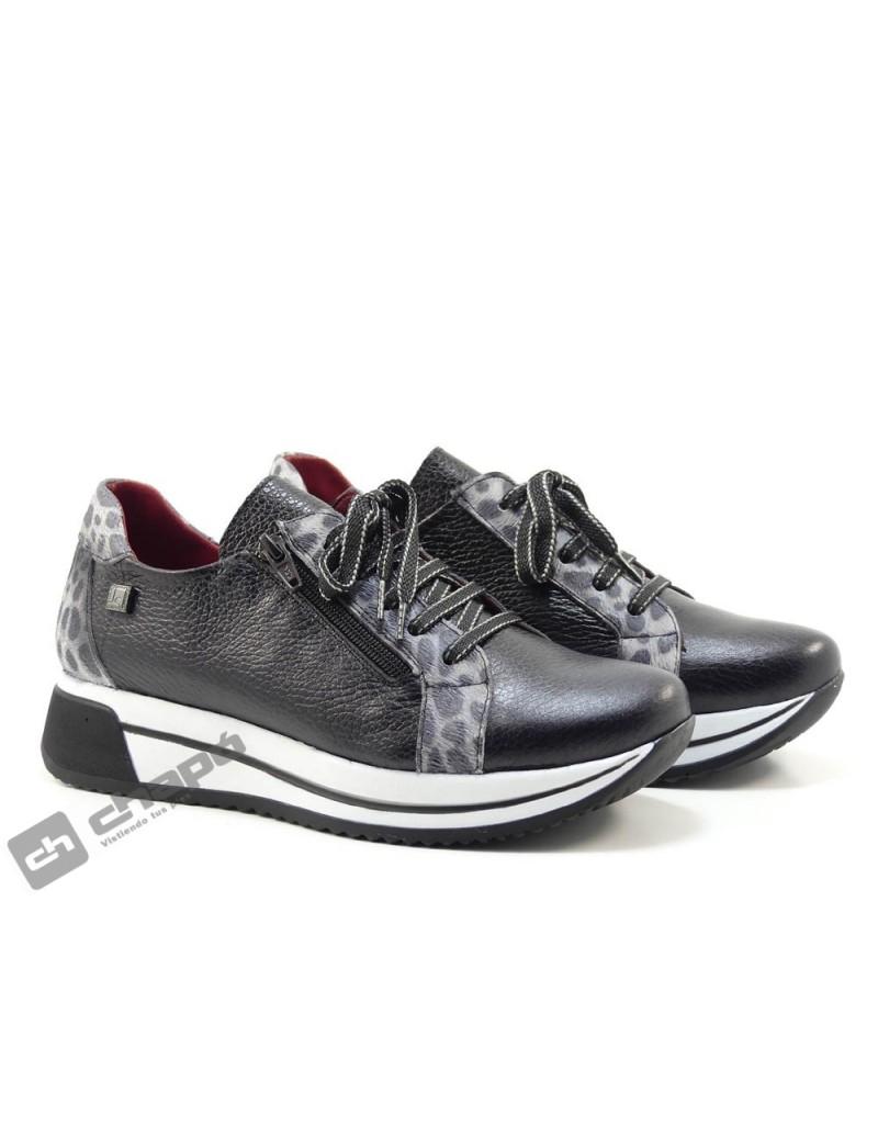 Sneakers Negro Jose Saez 3106