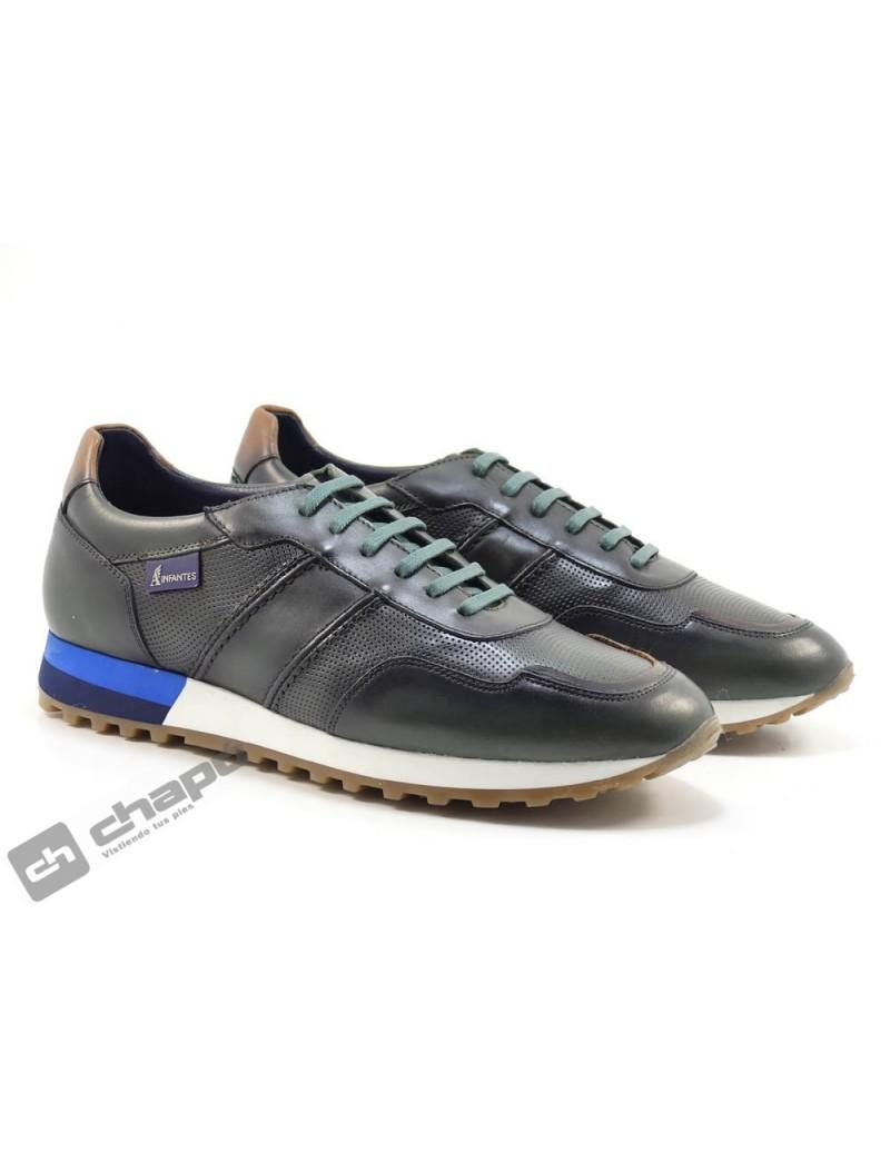 Sneakers Kaki Angel Infantes 09106
