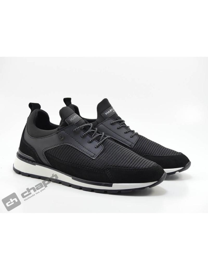 Sneakers Negro Martinelli Milo 1445-2566x