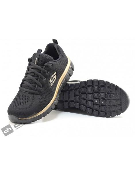 Sneakers Negro Skechers 12615