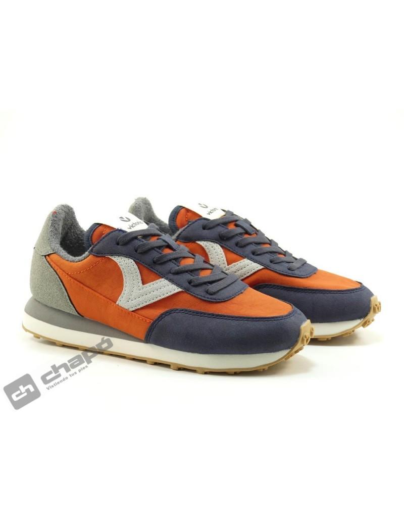 Sneakers Naranja Zapatillas Victoria 1138105