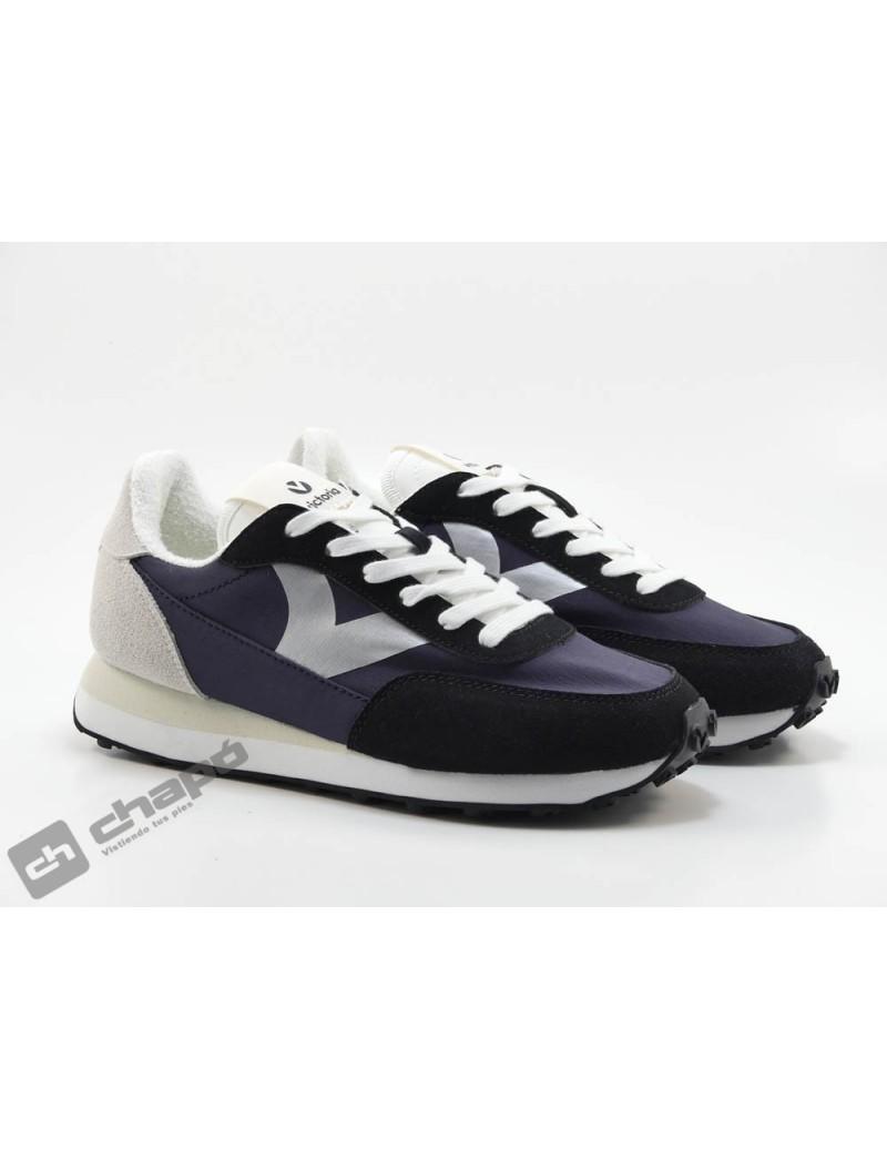 Sneakers Negro Zapatillas Victoria 1138103