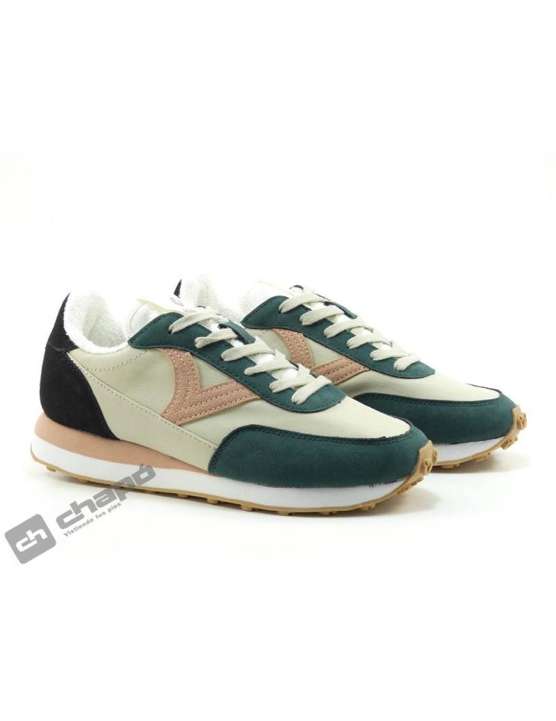 Sneakers Verde Zapatillas Victoria 1138104
