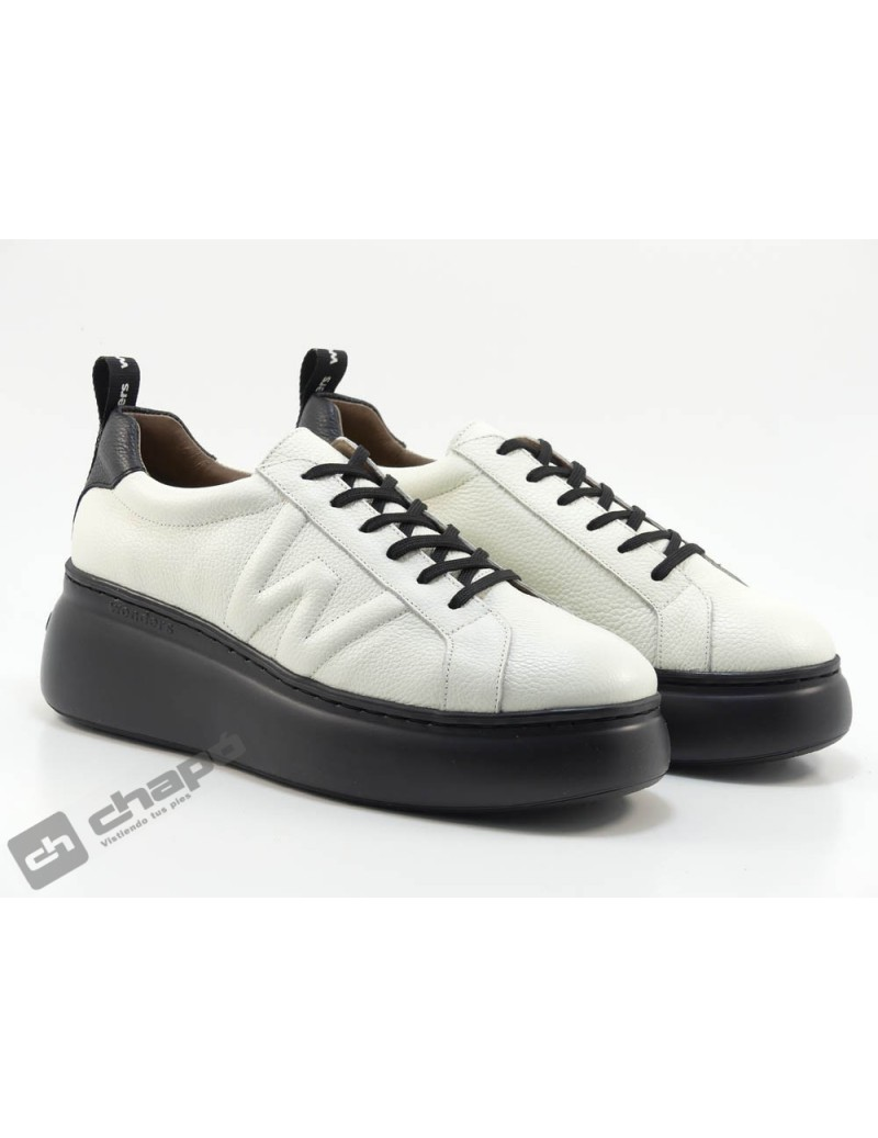 Sneakers Blanco Zapatos Wonders A-2603