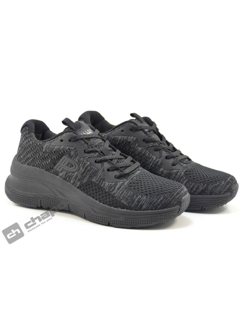 Sneakers Negro Pitillos 1190
