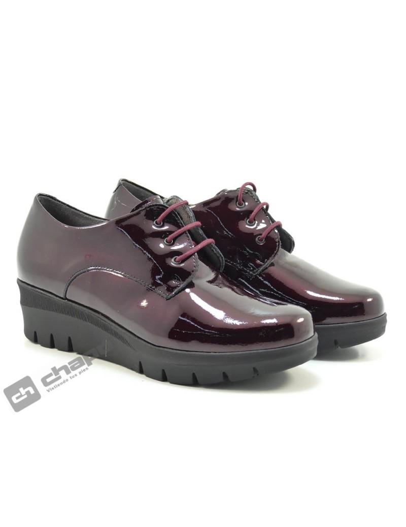 Zapatos Burdeo Pitillos 1112