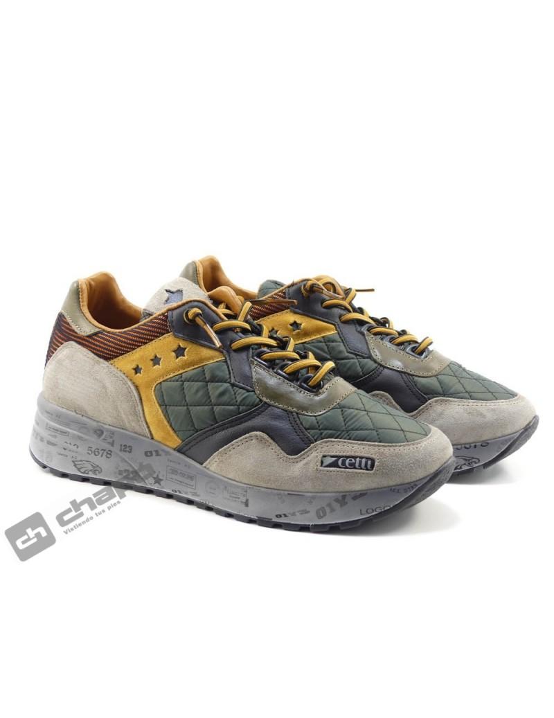 Sneakers Kaki Cetti C-1271