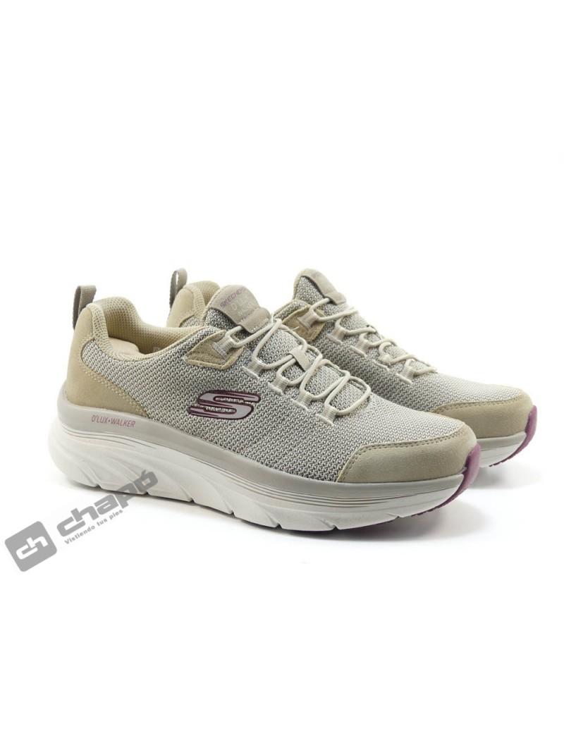 Sneakers Taupe Skechers 232263
