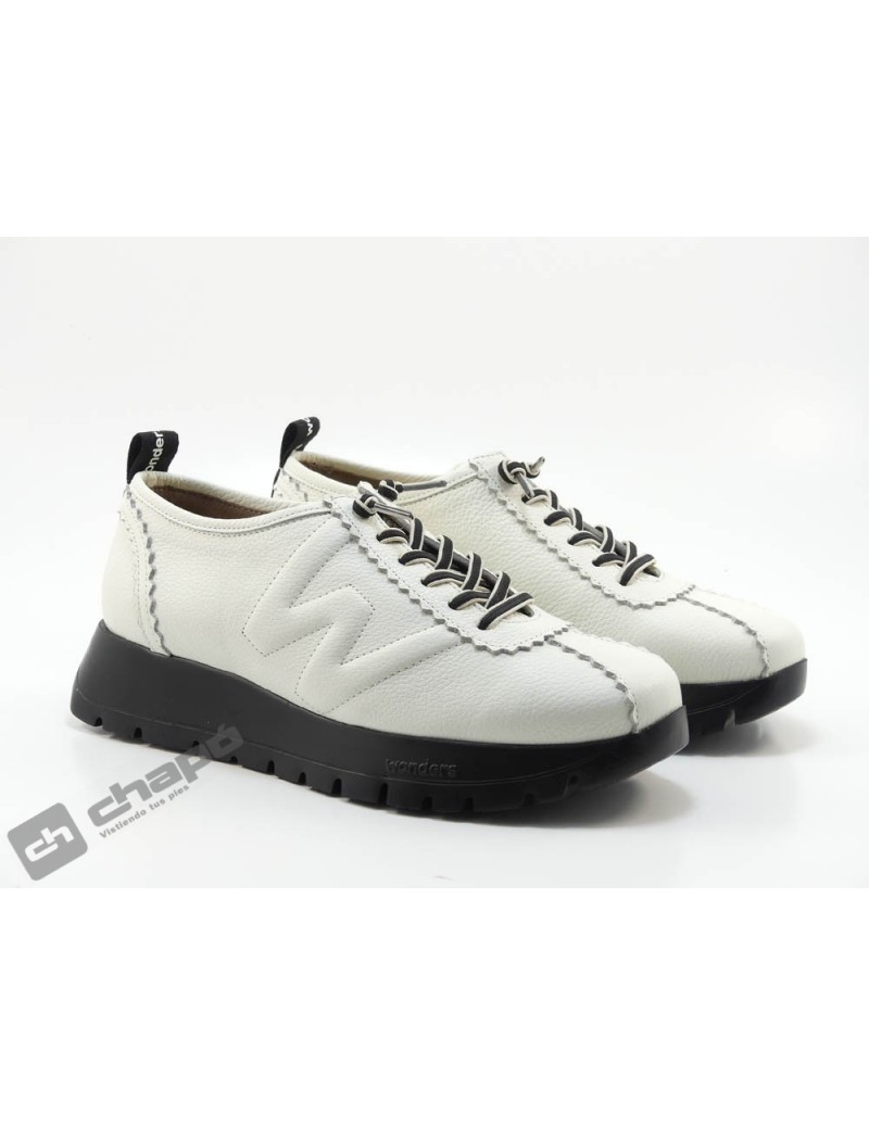 Sneakers Blanco Zapatos Wonders A-2410