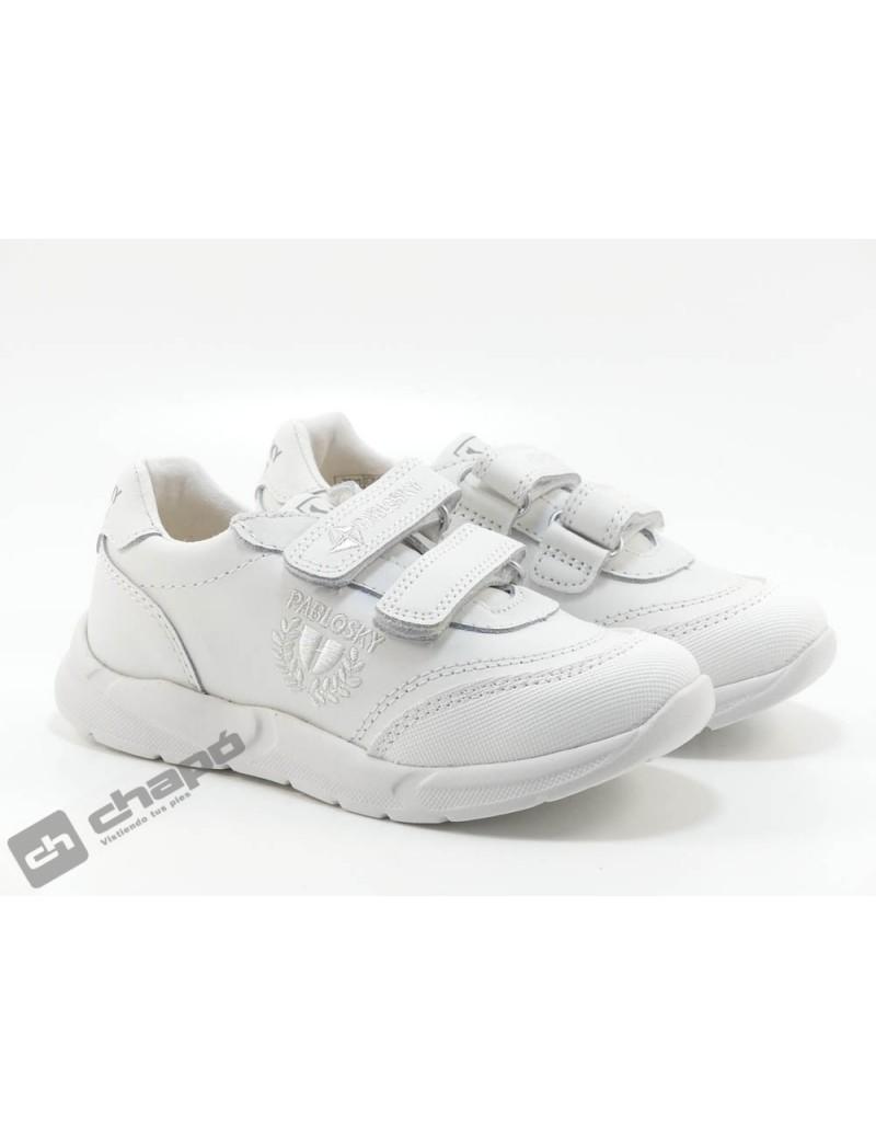 Zapatillas NiÑo-a Blanco Pablosky 277900