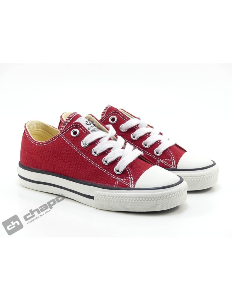 Zapatillas NiÑo-a Rojo Zapatillas Victoria 106550