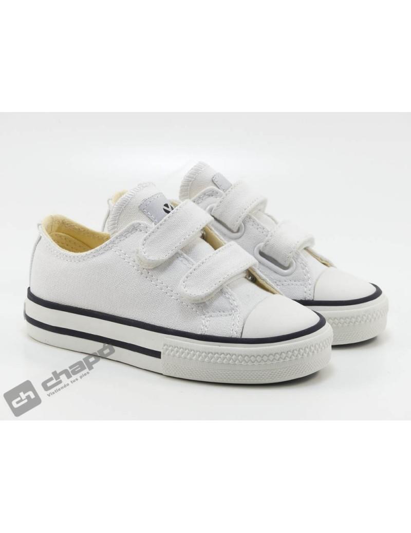 Zapatillas NiÑo-a Blanco Zapatillas Victoria 106555