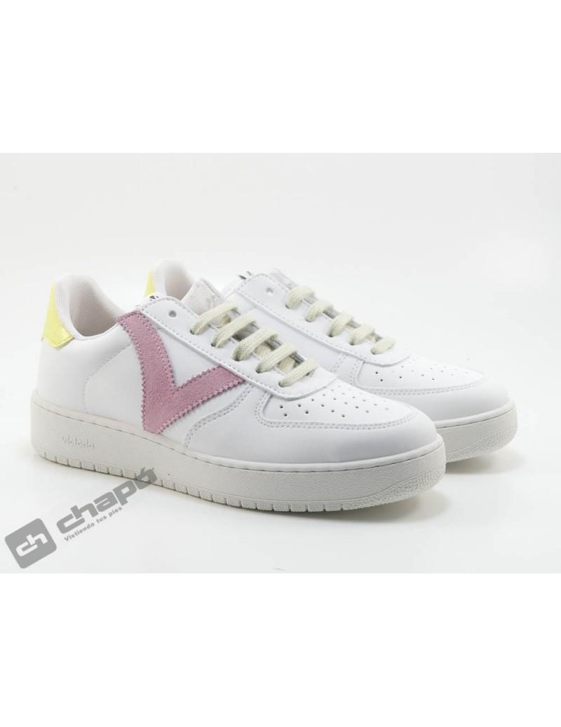 Sneakers Rosa Zapatillas Victoria 1258201